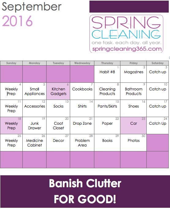Declutter with us over at spring cleaning 365 it 39 s a What month is spring cleaning