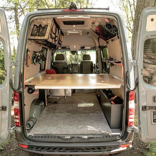 Adventure Wagon Portland Oregon Van Interior Conversion Kits Van Van Interior Van Storage