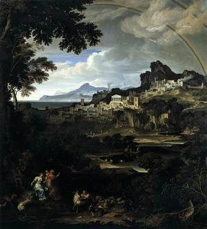 Heroic Landscape with Rainbow 1815  Joseph Anton Koch