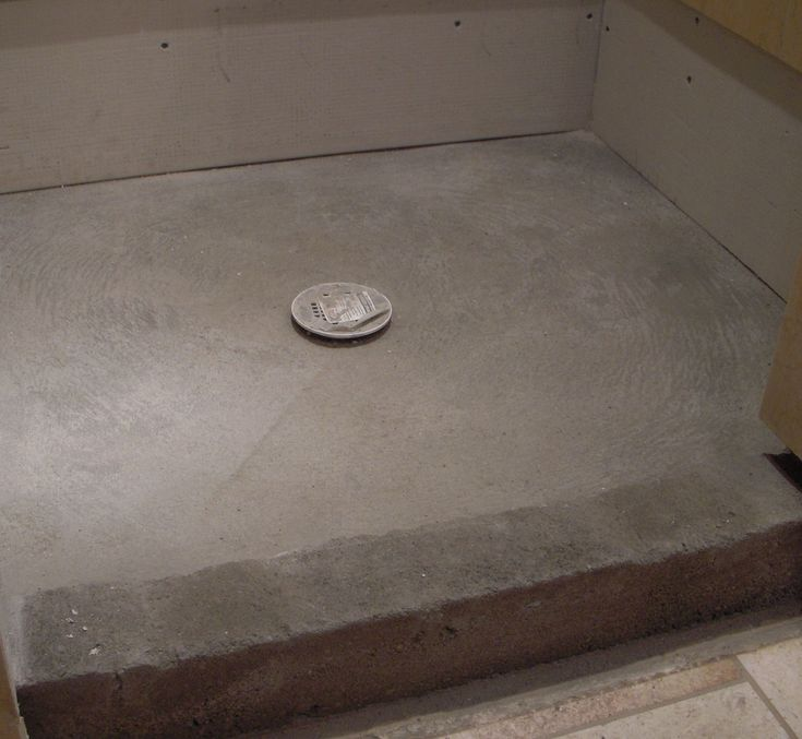 Quick Pitch Shower Pan Installation