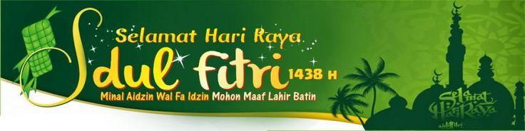Desain Spanduk Idul Fitri 1438 H 2017