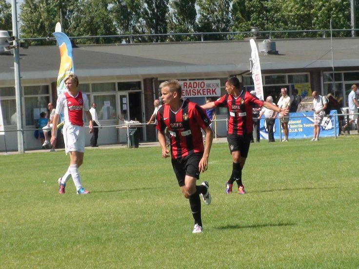 Holland, Heemskerk U19 Tournament, game against Ajax