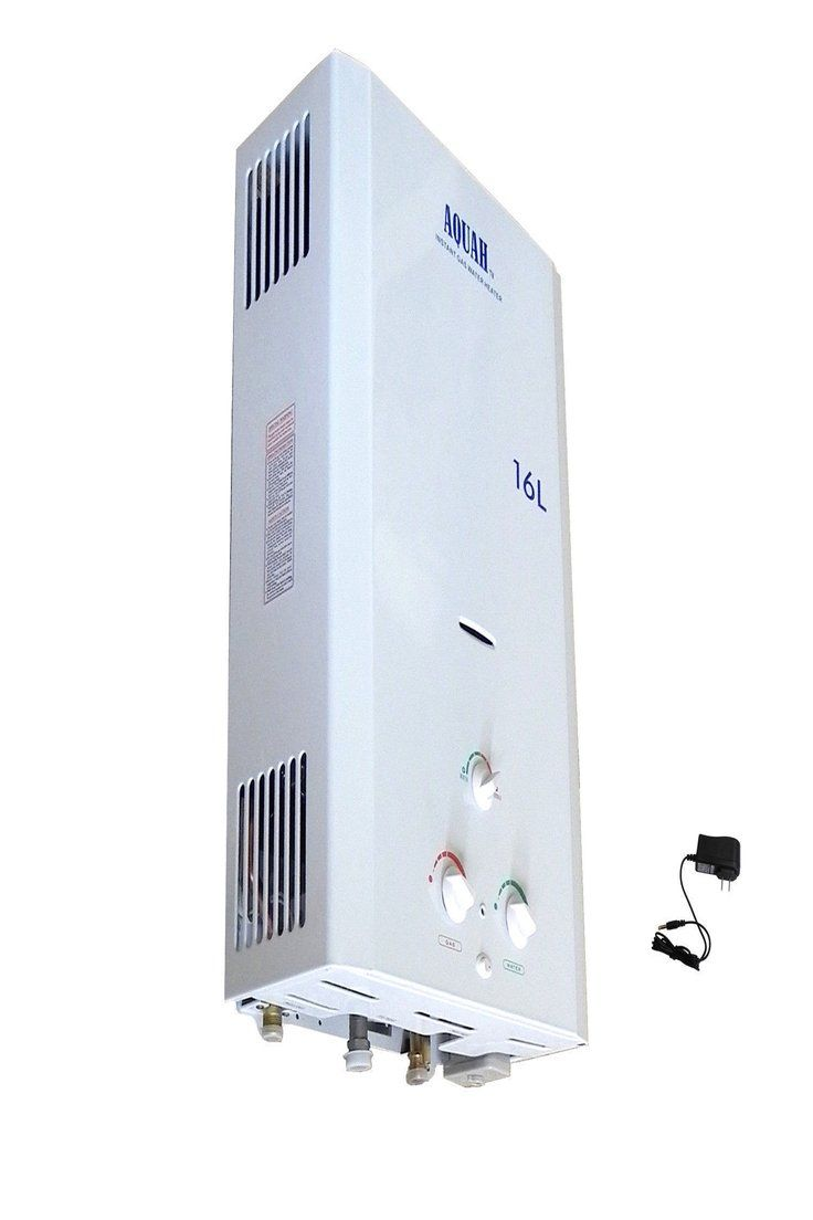 NEW AQUAH 16L 4.3 GPM NATURAL GAS NG INDOOR TANKLESS WATER HEATER WHOLE HOUSE