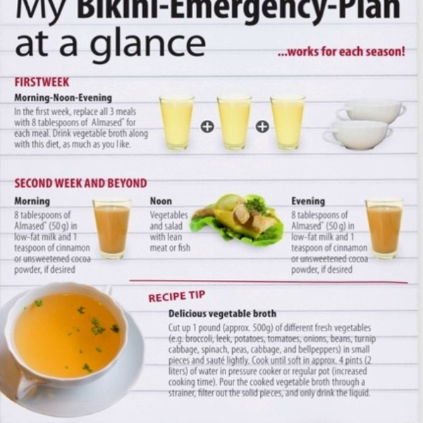 almased bikini emergency plan. natural weight loss.! I'm starting this tomorrow  give my feedback in a few months :)