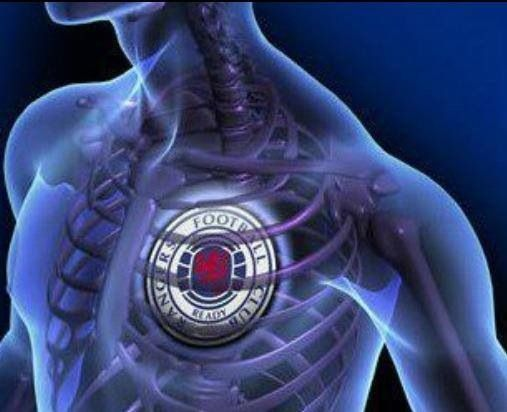 My blue hearts beats for rangers!!!!