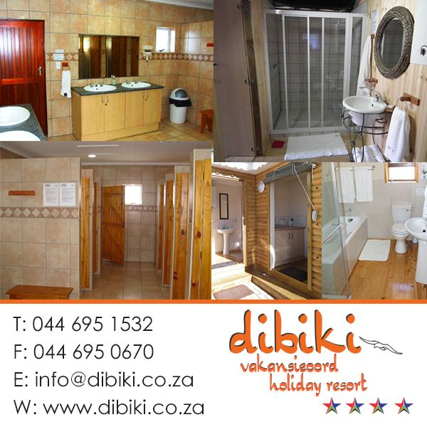 At Dibiki it is like home away from home. Where will you find bathrooms this clean and tastefully decorated? RATE US ON TRIPADVISOR: http://on.fb.me/1liFuqS  Visit our website: http://bit.ly/1cXzrm6 #activities #holidaydestinations #hartenbos