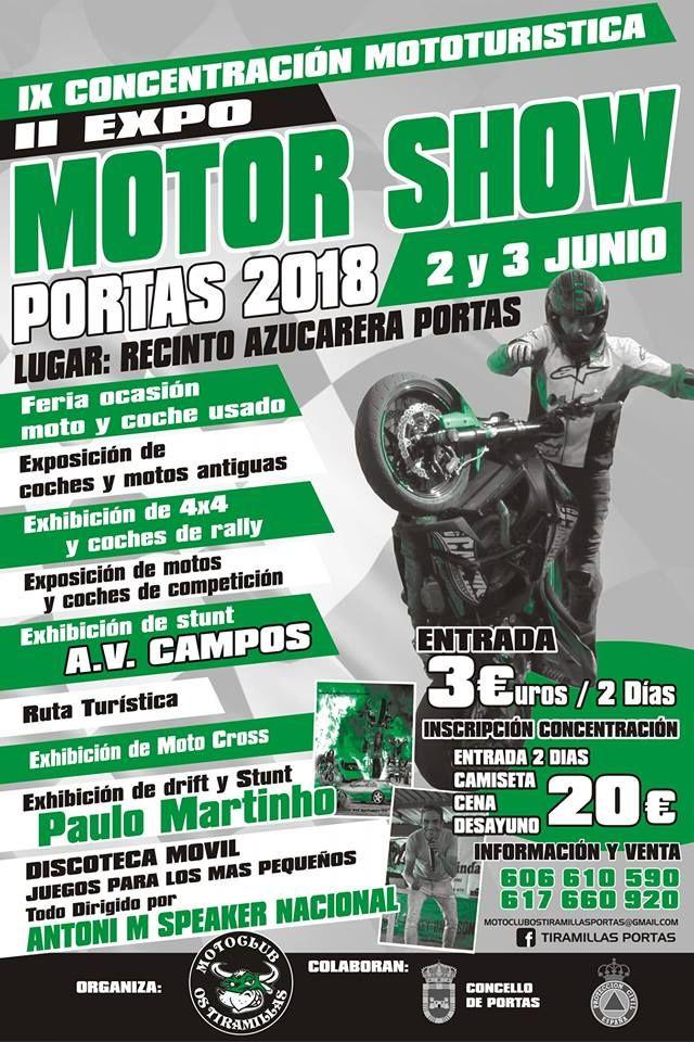 Ix Concentración Mototurística Portas En Portas Pontevedra Coches Usados Rally Concentracion