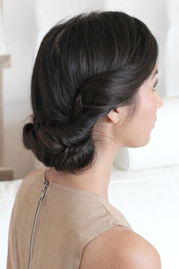 messy fishtail updo_12