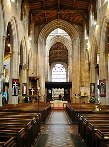 St Laurence's Church, Ludlow, England