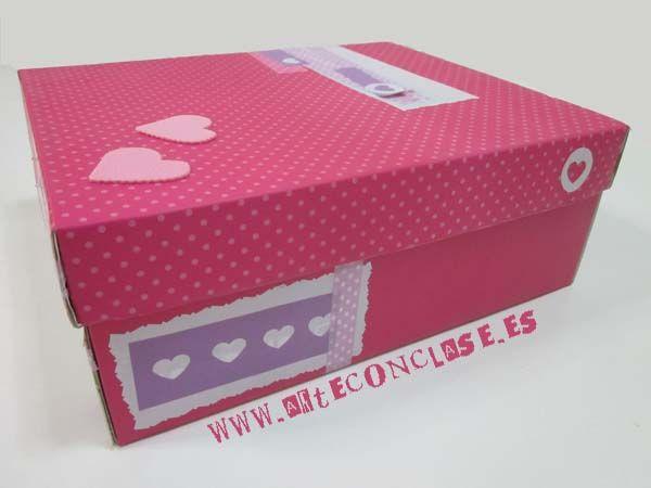 caja de zapatos reciclada hemos alterado una caja de zapatos tapando y decorando a la washi