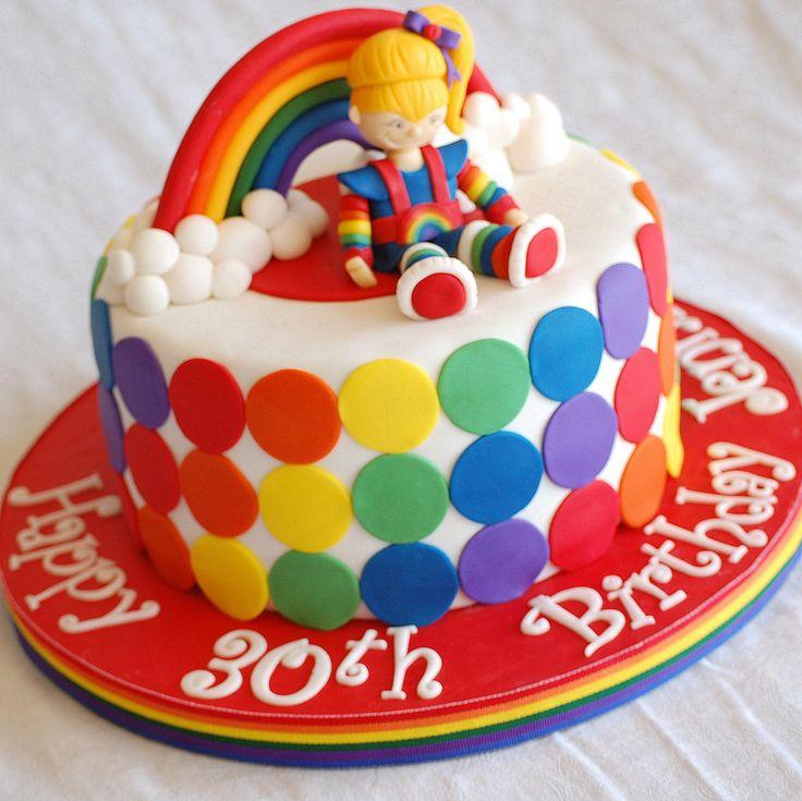 Rainbow Birthday Cake | CakeFilley: Rainbow Bright Birthday Cake