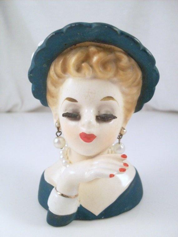 685 Best Head Vases Images On Pinterest Vintage Vases Wall