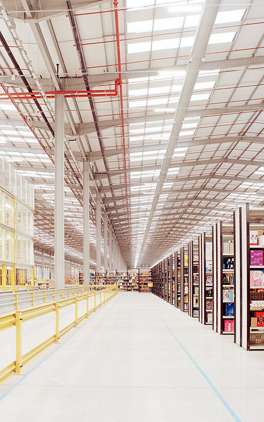 I would love this job.   Think Your Office Is Soulless? : Check Out This Amazon Fulfillment Center / FastCoDesign | #books