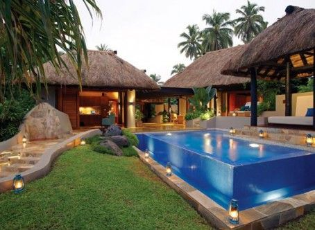 fiji houses | ... of the award-winning villa at Jean-Michel Cousteau Fiji Resort