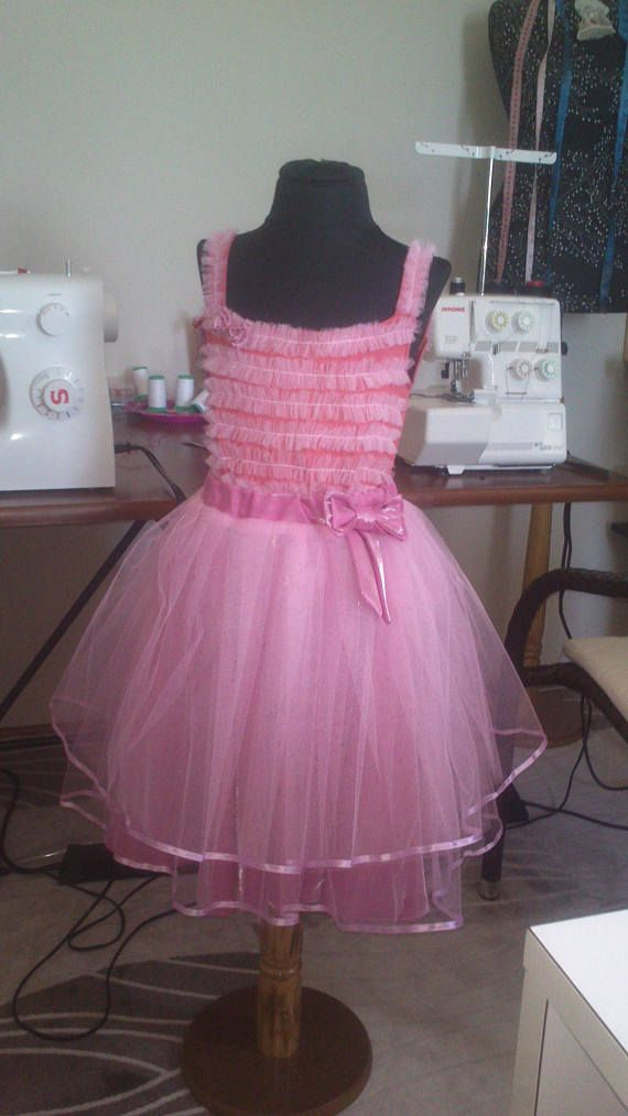 Юбка-пачка.Юбка-туту.Set skirt tutu pink tulle for girl 8
