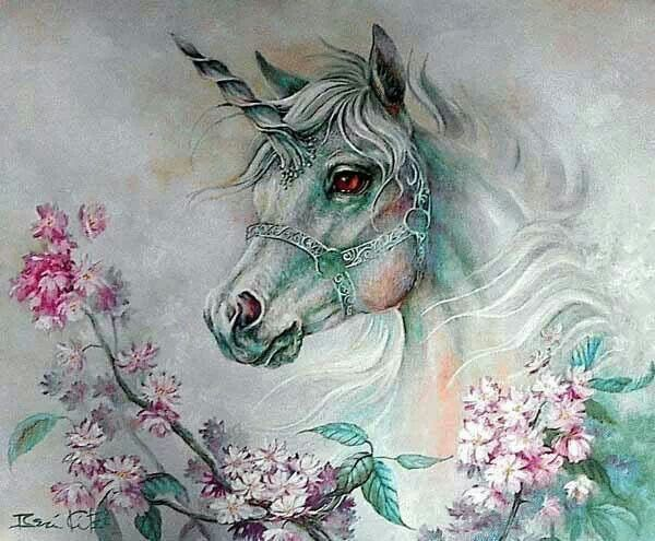 Unicorn. So pretty ! ^_^