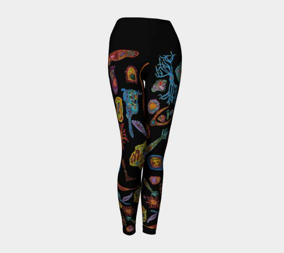 Cellular Diversity Yoga Leggings XS-S-M-L-XL Microbiology Science Biology Molecular Wearable Art Clothes Women Teen Pants Clothing Fashion