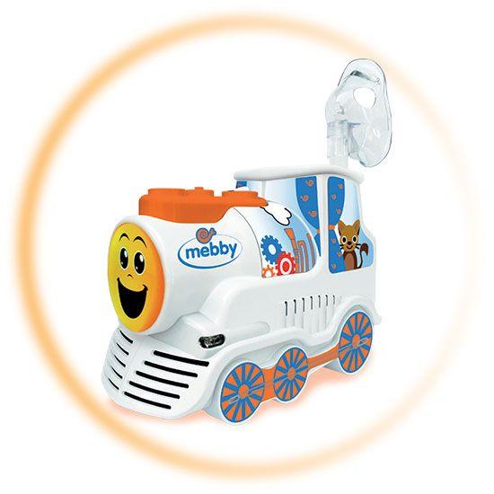 Ciuf Ciuuuf! Arriva il simpaticissimo TRENINO AEROSOL Mebby che amerete, anche voi grandi, perchè è SILENZIOSO e VELOCISSIMO nel trattamento! Forza  bimbi, si parte! Lo trovate qui: http://ndgz.it/trenino-aerosol  #aerosol #trenino #bambini #mamme #influenza #cura