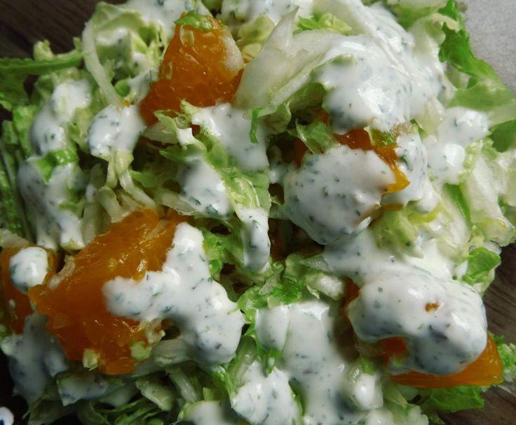 Rezept Chinakohlsalat mit Mandarinen und Dressing von Tasja81 - Rezept der Kategorie Vorspeisen/Salate