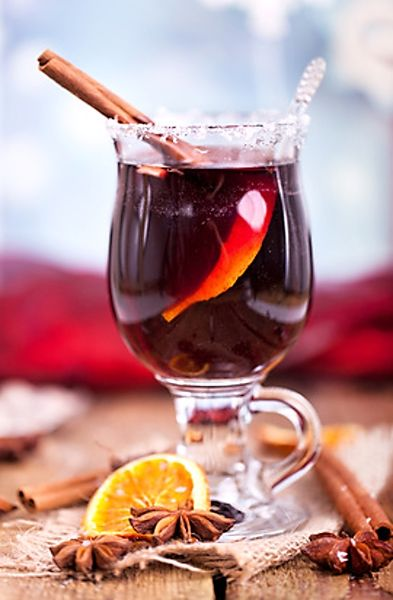 Svařené červené víno jako lék