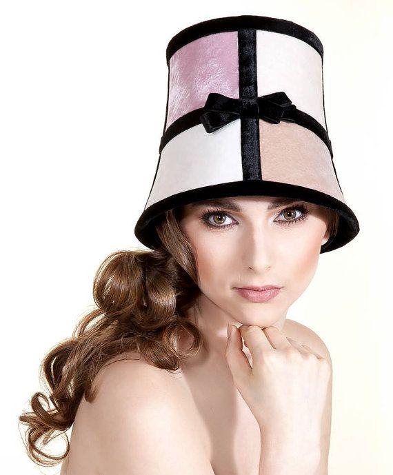 Bucket Couture Hat Mademoiselle Ladurée by LalluChicHatCouture