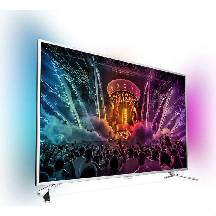 TV Philips 49PUS6501 Android UHD - TV LCD 56' prix Téléviseur 4K Fnac 1 044.20 €