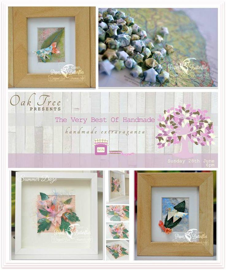 Paper Butterflies Origami Oak Tree Events Best Of Handmade Market