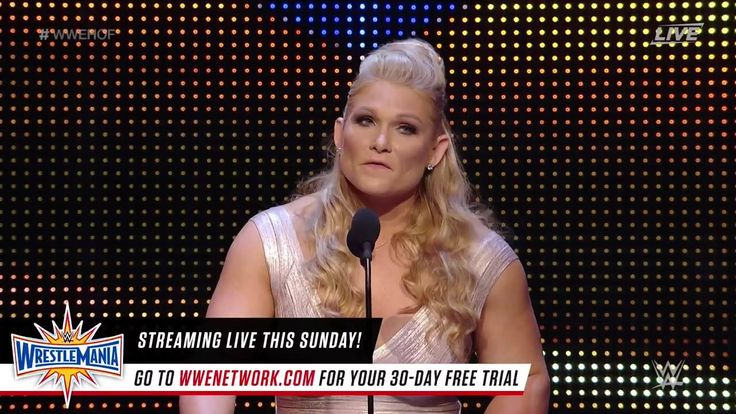 Beth Phoenix tears up while discussing her friendship with Natalya and the impact it has had on her career at the WWE Hall of Fame, LIVE on WWE Network.
