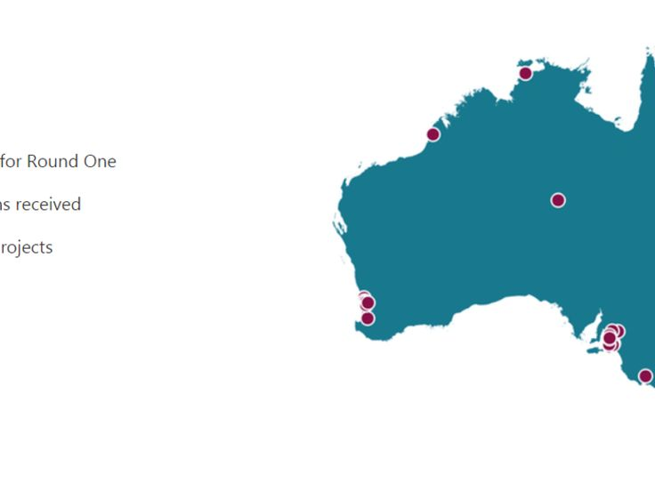 Under round one of the Smart Cities and Suburbs Program, the Australian government will provide 52 projects across the nation with AU$28.5 million in shared funding.