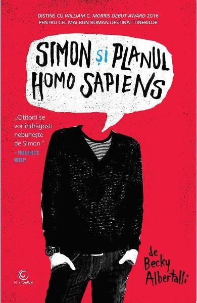 Recenzie carte: Simon si Planul Homo Sapiens de  Becky Albertalli