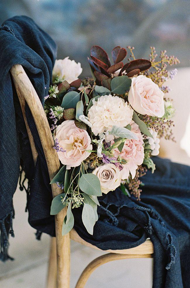 Photo by @Sara Weir - Moody Indigo Wedding Inspired by Dark and Light - #UtterlyEngaged