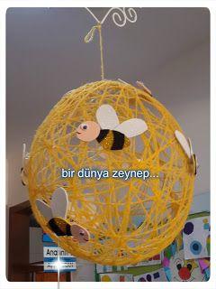 #preschool #okulöncesi #kindergarten #arı #sanatetkinliği #kidscraft…