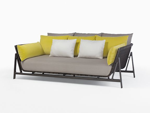HOLLY HUNT This Is A Really Sleek, Contemporary Outdoor Sofa!