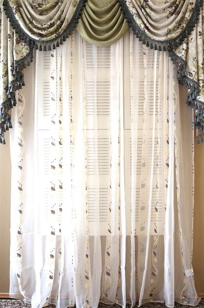 Appalachian Spring Classic Overlapping Swag Valance
