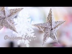 Weihnachtsbaum-Schmuck aus Papier selber falten - 4 einfache Anleitungen - smarticular.net