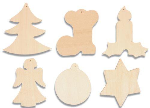 Houten kerstfiguren