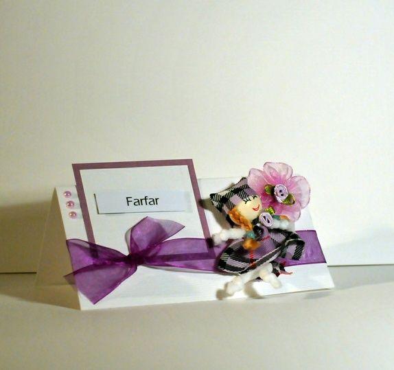 Eksklusive bordkort  til bryllupet, dåpen, konfirmasjonen etc på bestilling 30 pk