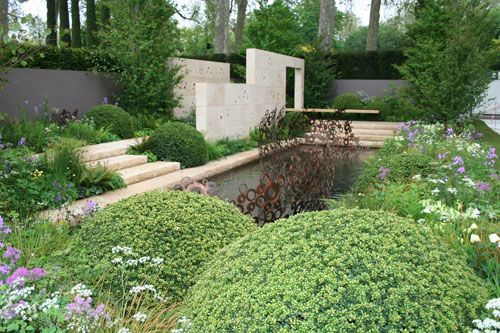 Award-winning landscape and garden designer Andy Sturgeon returns with an Arts and Crafts inspired garden for M Investments, the official sponsor of the RHS Chelsea Flower Show.