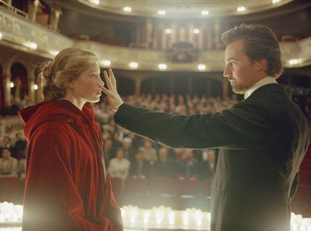 "Still photo from ""The Illusionist"" starring Edward Norton and Jessica Biel."