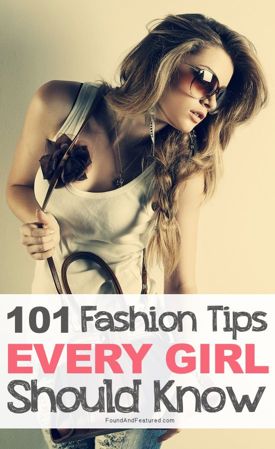 Including things like how to take care of certain fabrics, how to de-fuzz a sweater, and lots of style hacks.