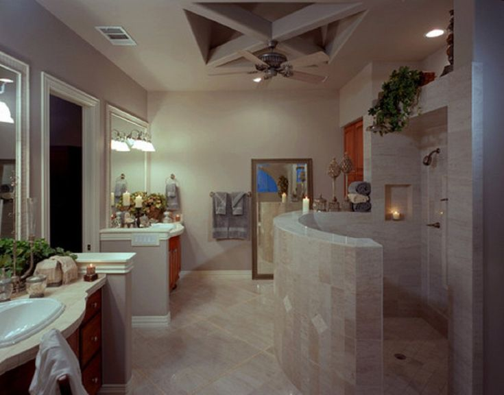 Walk In Shower Ideas For Modern Bathroom Design Highly Feature Doorless Glass Stall
