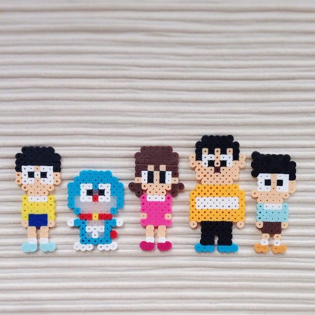 Doraemon perler beads by dapan