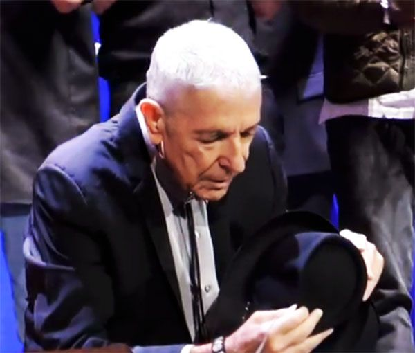 Tour Crew Joins Leonard Cohen & Musicians Onstage The final 17 minutes of the Sept 20, 2013 Amsterdam Concert, the last European show given by Leonard Cohen. Leonard Cohen – Continue Reading →