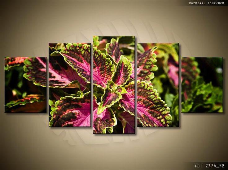 ArtGaleria Obraz drukowany GALERIA 150x70cm Kwiaty