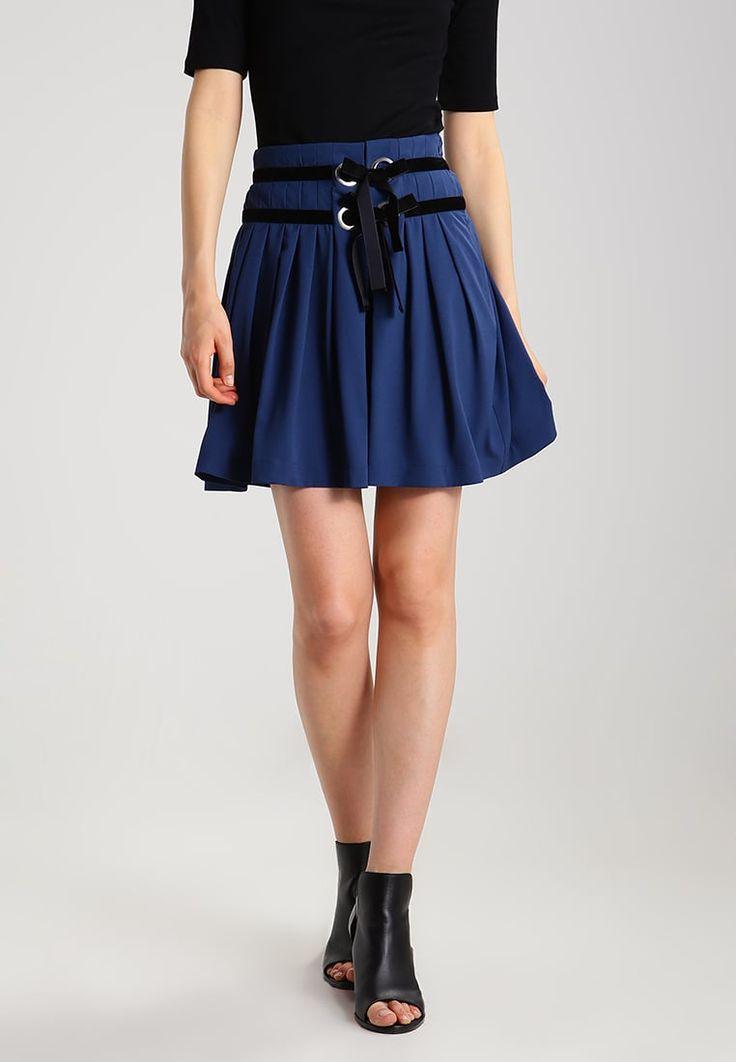 mint&berry A-snit nederdel/ A-formede nederdele - dark denim - Zalando.dk