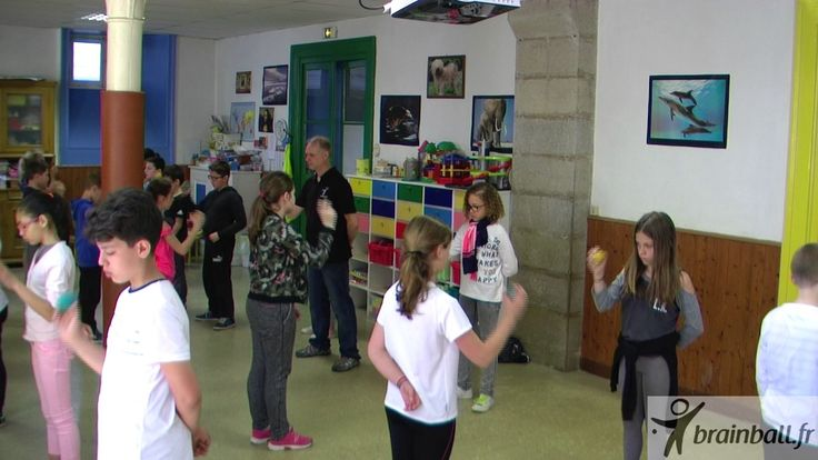 Atelier Brain Ball   Ecole Chambard   Rectangle Triangle en musique