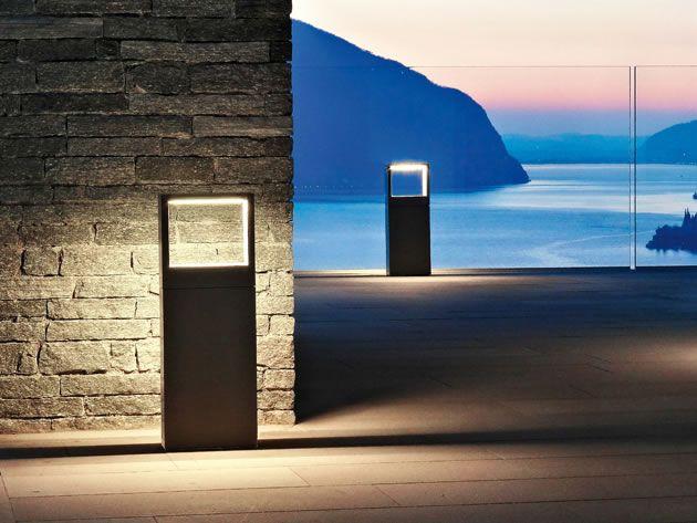 Cool square bollard - Simes S.p.A. luce per l'architettura