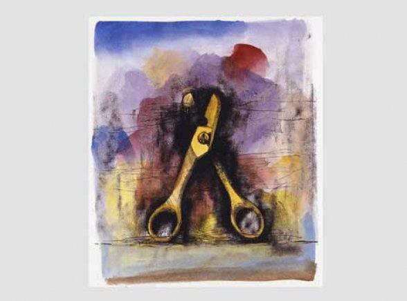 Jim Dine   Prints   Works on Paper   Watercolours - Jim Dine - Tools