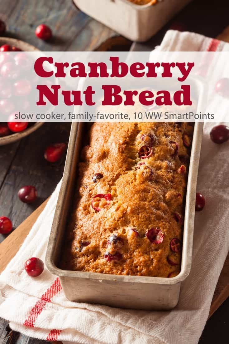 Slow Cooker Cranberry Nut Bread Recipe Simple Nourished Living