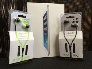 Refer 3 Friends for a Chance to Win an iPad Mini & Zipbuds PRO mic!